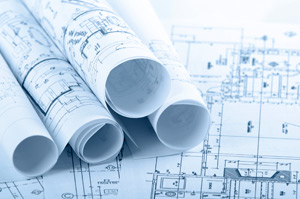 blueprints for construction